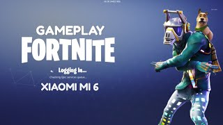 Gameplay Fortnite on Xiaomi mi6 Snapdragon 835