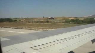 Взлет самолета с острова Кос, Греция. Kos, Kardamena 09(Хорошо, спокойно взлетел., 2009-05-12T05:16:49.000Z)
