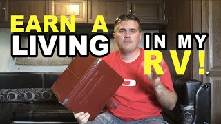 How I Earn a Living in My RV