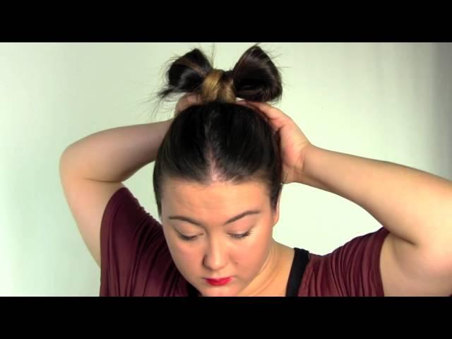 Hair Tutorial Video How To Recreate Lady Gagas Hair Bow