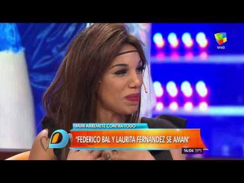 Entre Laurita Fernández y Federico Bal hay amor