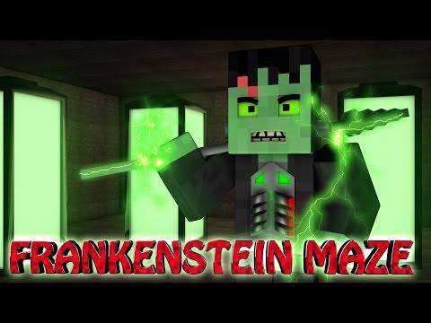 Minecraft | MAZE CHALLENGE SURVIVAL - FRANKENSTEIN Mod Challenge Part 16!