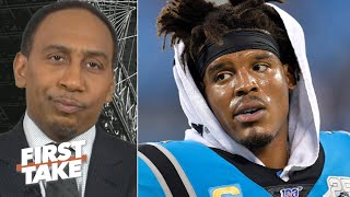Stephen A. calls for the Bears to trade for Cam Newton   First Take