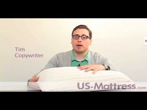 sealy embody optimal latex pillow by pacific coast feather