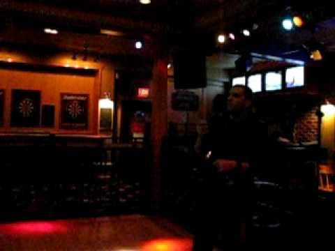Casey Gallant Singing Tragically Hip March 4 2010