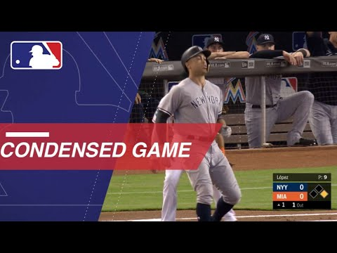 Condensed Game: NYY@MIA - 8/21/18