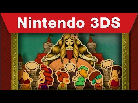 The Legend of Zelda: Tri Force Heroes - The Princess's Tell-All Trailer