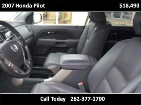 2007 Honda Pilot Used Cars Cedarburg WI