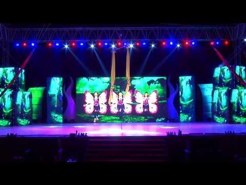 Dharmesh Dance Company  EBCD  2017  Opening Dance Aerial