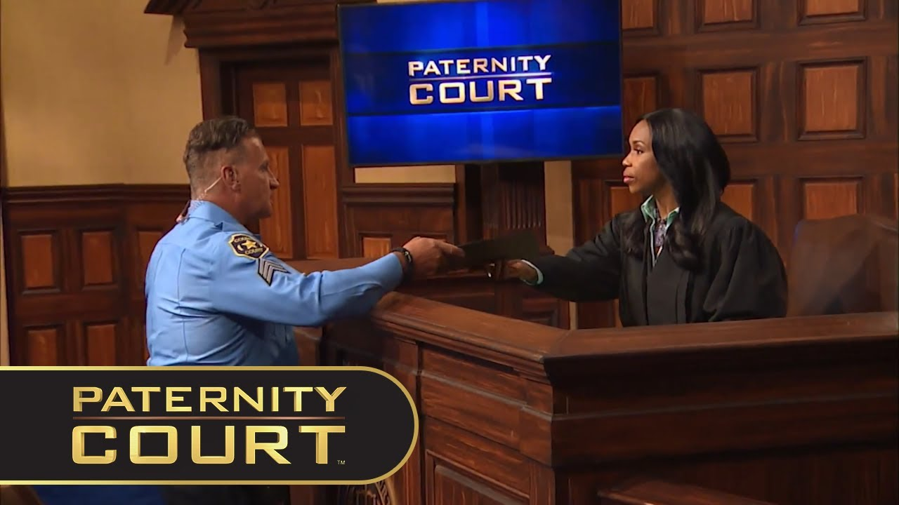3 Minutes of Jerome Handing Things to Judge Lake   Paternity Court