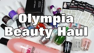 Gambar cover My Olympia Beauty London Exhibition Haul | Lucy's Stash