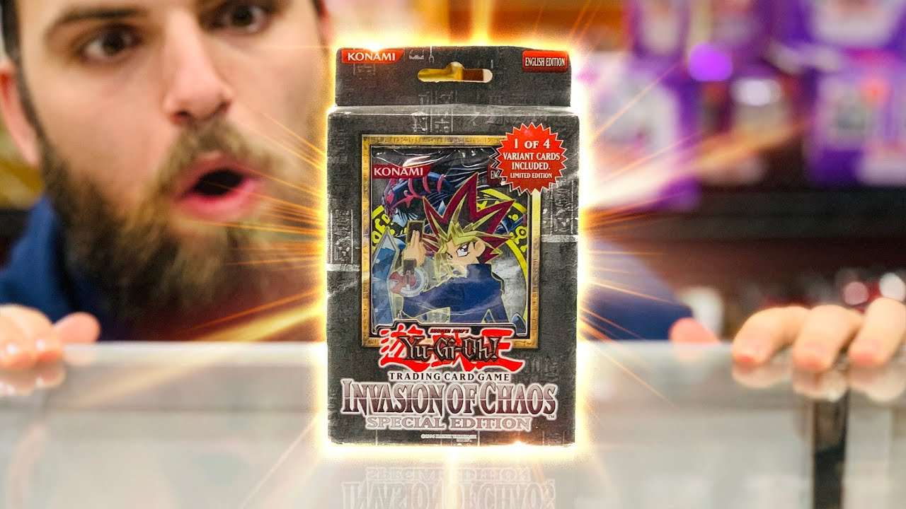 Opening the FIRST Yu-Gi-Oh Special Edition EVER Made | Invasion of Chaos (GODLY)