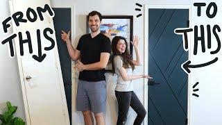Simple DIY Door Makeover (that we almost ruined...)