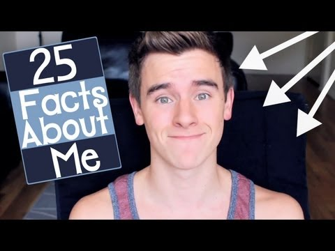 25 Facts About Me | Connor Franta - YouTube