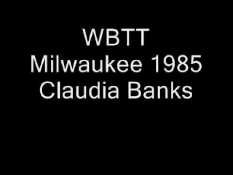 WBTT Milwaukee 1985 Claudia Banks.wmv