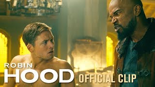 "Robin Hood (2018 Movie) Official Clip ""See Who Bites"" – Taron Egerton, Jamie Foxx"