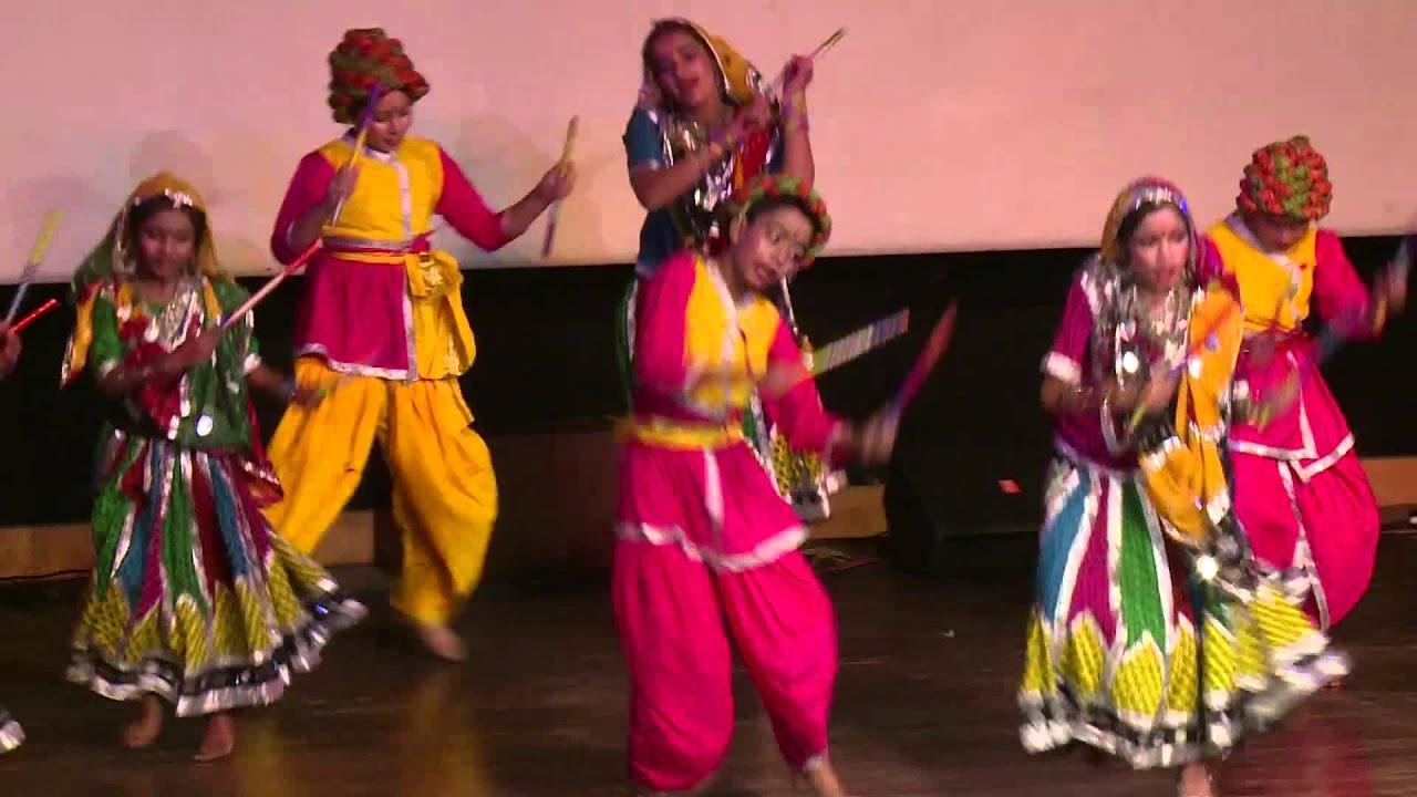 rajasthani folk dance dholna by students of paramlakshya