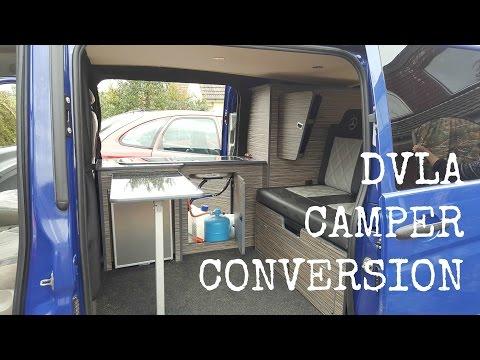 DVLA Requirements for Van to Camper | The Carpenter's Daughter