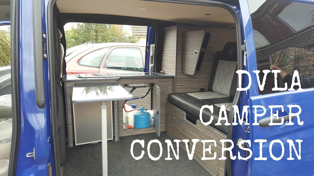 DVLA Requirements For Van To Camper