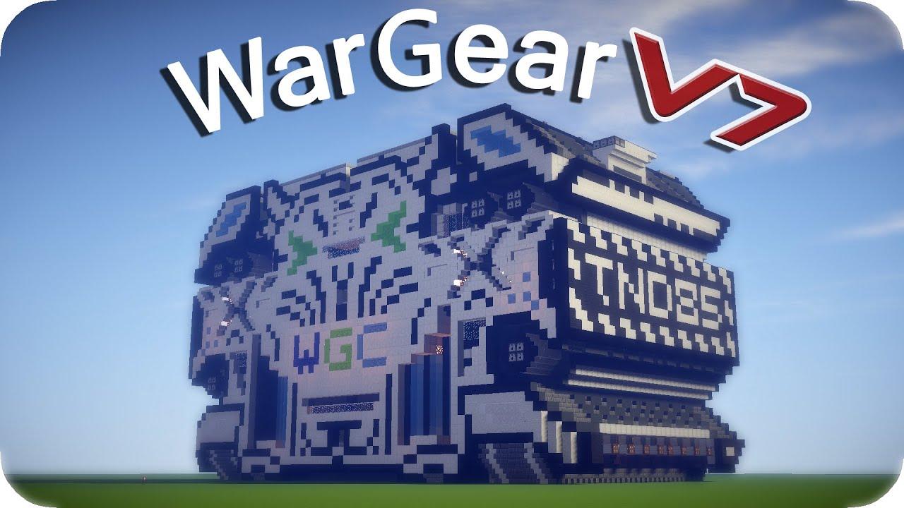 WWII Themed Invasion (cinematic battle scene) Minecraft ...