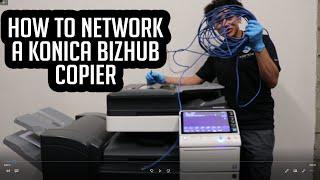 bizhub copier video, bizhub copier clips, nonoclip com