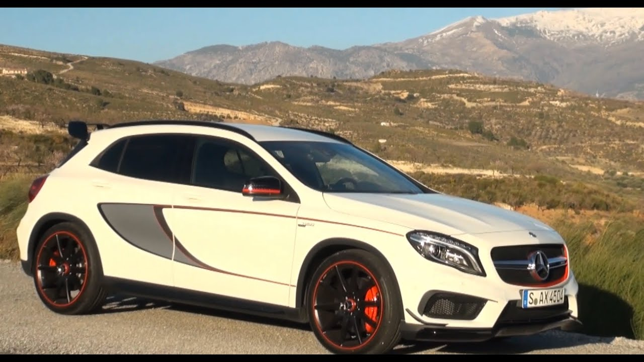 2015 mercedes gla 45 amg edition 1 test review driving fun autogef hl youtube. Black Bedroom Furniture Sets. Home Design Ideas