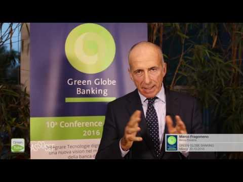 Intervista a Marco Fragomeno | X Edizione Green Globe Banking Conference & Award