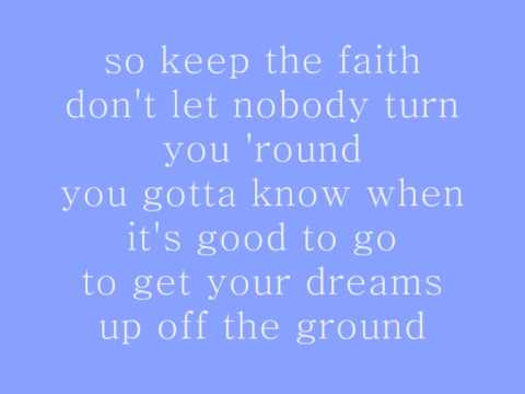 Image result for michael jackson lyrics keep the faith
