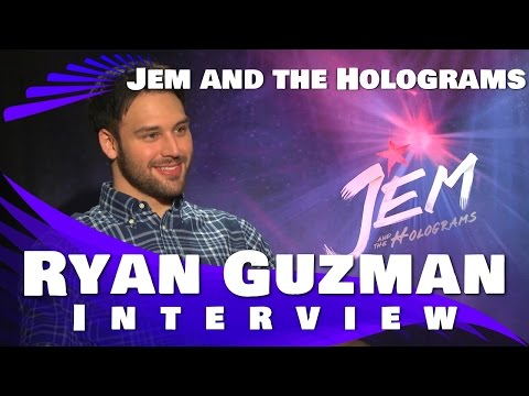 JEM and the Holograms Interview - Ryan Guzman