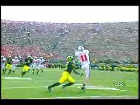Ohio State vs Michigan - The Catch - November 19, 2005