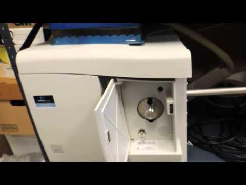 Gas Chromatograph Video Of Laboratory Equipment