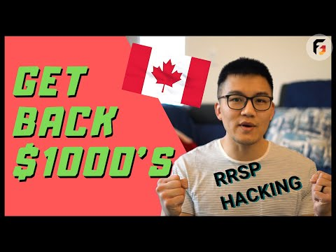How To Optimize RRSP Contributions For Income Tax | Doing Taxes In Canada | Ep 18