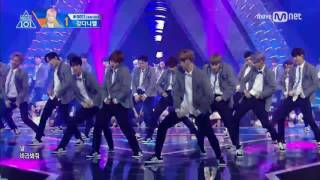 Video [170616] Produce 101 Season 2 final stage with All trainee - Pick me (프로듀스 101 시즌 2 - 나야나) download MP3, 3GP, MP4, WEBM, AVI, FLV Desember 2017