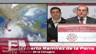 """""""Huracán Patricia podría ser catastrófico"""": Conagua / Titulares de la tarde"""