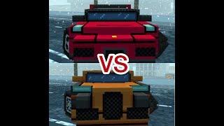 Ferrari vs Bugatti Block City Wars