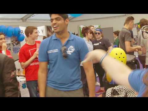 Kingston University Freshers Fayre 2016