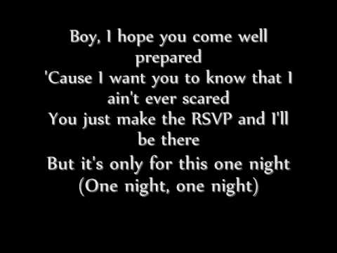 lil jon one night stand lyrics
