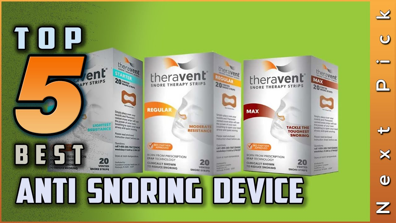 Top 5 Best Anti Snoring Device Review In 2020 On The Market Today Youtube