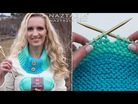 Learn How to Knit - Knitting for Absolute Beginners - Beginner DIY Tutorial Knit Purl Cast On Off