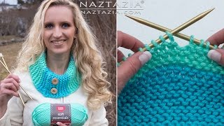 How to Knit - Easy Knitting for Beginners Tutorial by Naztazia