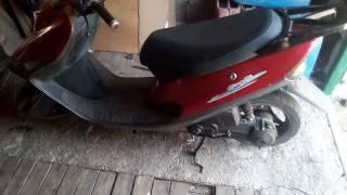 видео Скутер 2 тактный