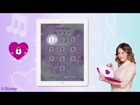 Violetta Secret Diary App - Transforme ta Tablette en Journal Intime