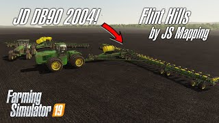 Trying out JHHG's 2004 DB90 along side the modern DB90 with Precision Farming on Flint Hills - EP22