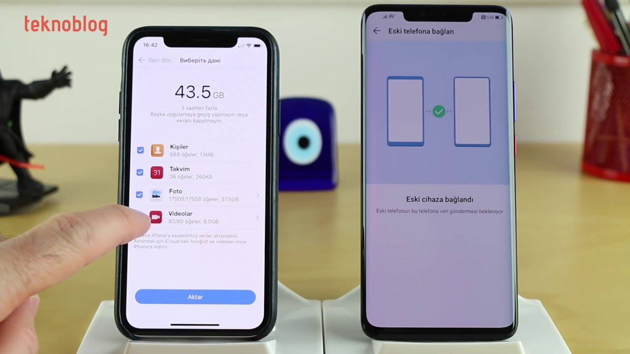 android telefondan iphone takip