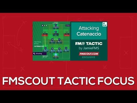 Fm19 Counter Attack Tactic