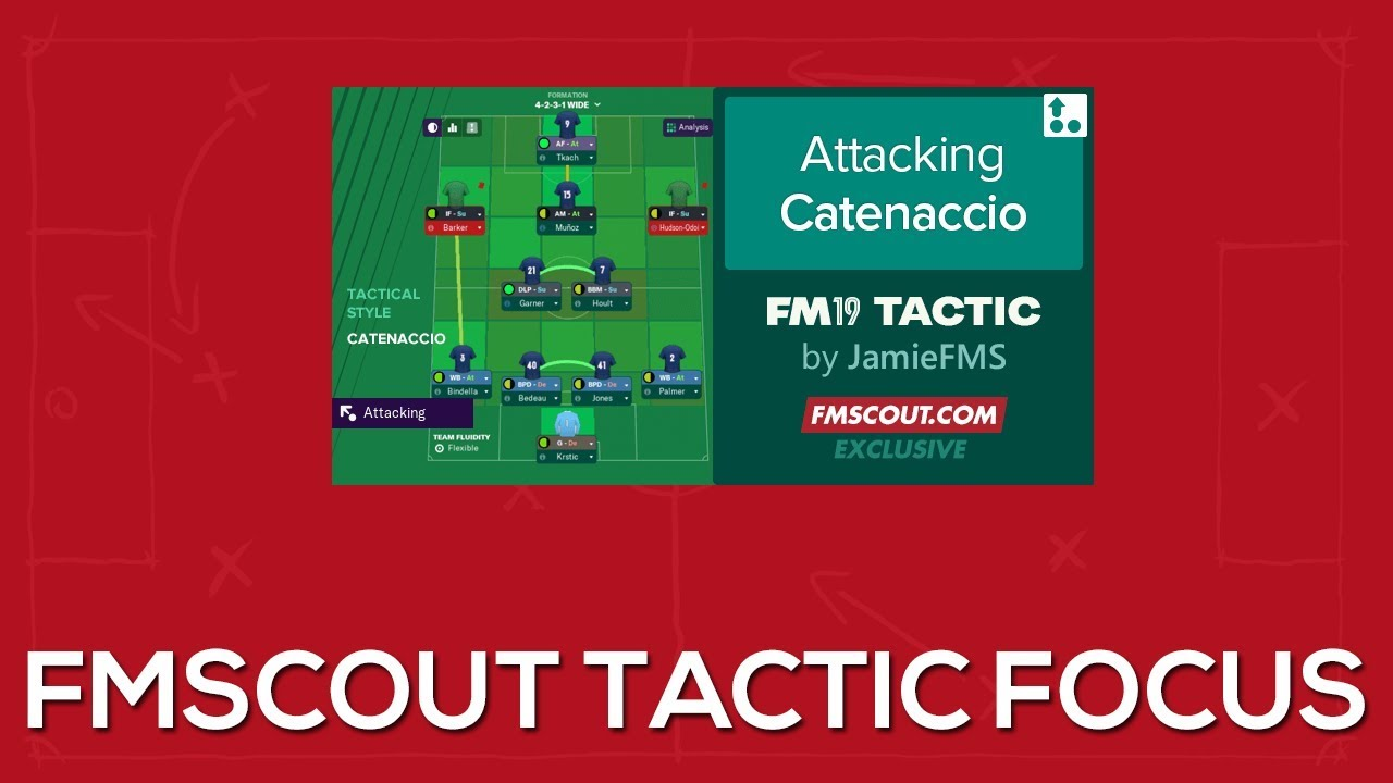 The Best Football Manager 2019 Tactic | An Unstoppable Attacking FM19 Tactic