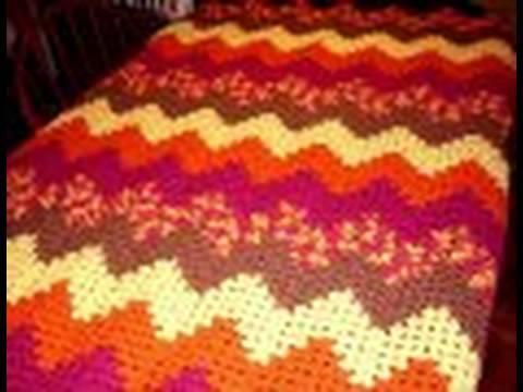 Crochet Along Grannie Ripple Part 1 Youtube
