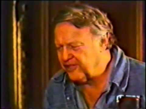"James Dickey reading ""Under Buzzards,"" (a poem for Robert Penn Warren) at Yale"