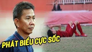 HLV Hoàng Anh Tuấn phát biểu 'sốc' sau thất bại khó tin trước U18 Campuchia