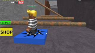 Escapando de la Prisón!|EscapeThePrisionObby|ROBLOX